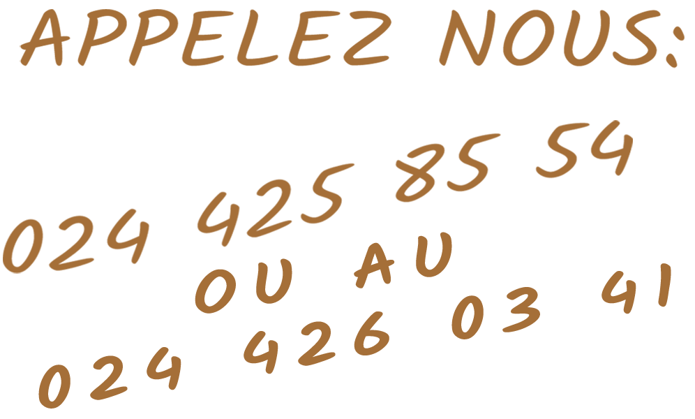 Le cabotin toilettage - applez-nous au 024 425 85 54 ou au 024 426 03 41